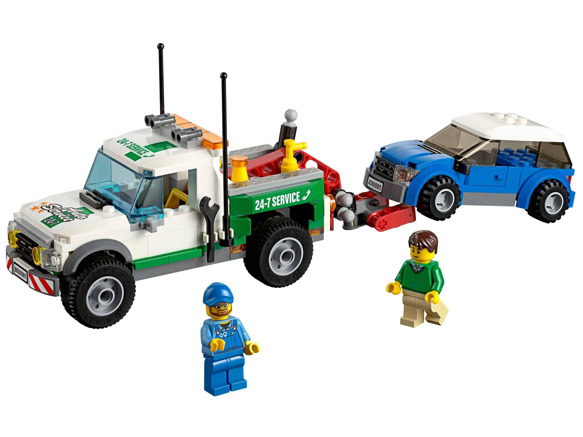 lego pick up sleepwagen 60081