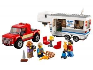 lego pick uptruck en caravan 60182