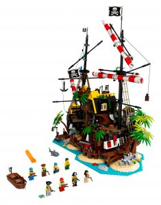 lego piraten van barracuda baai 21322