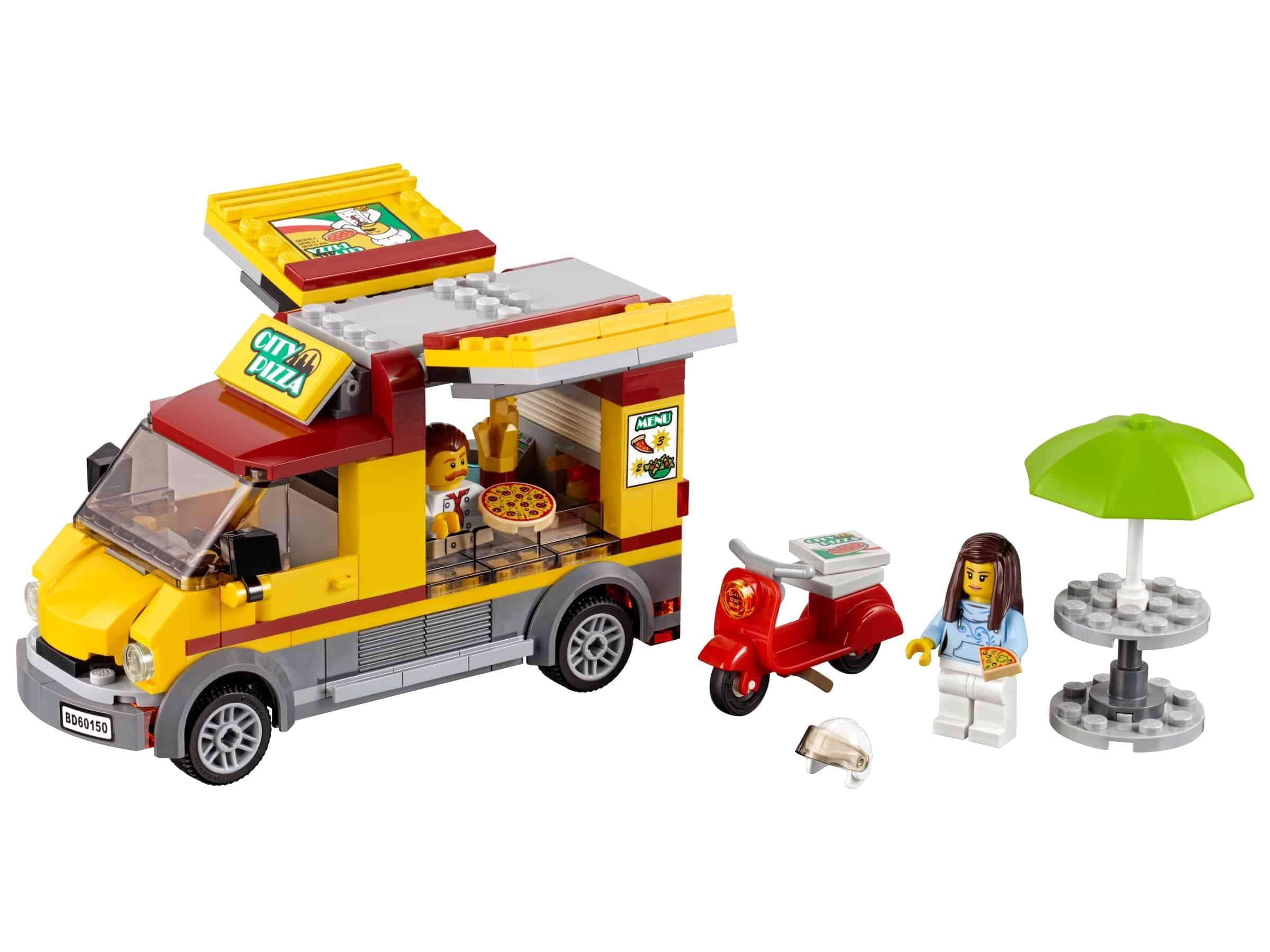 lego pizza bestelwagen 60150