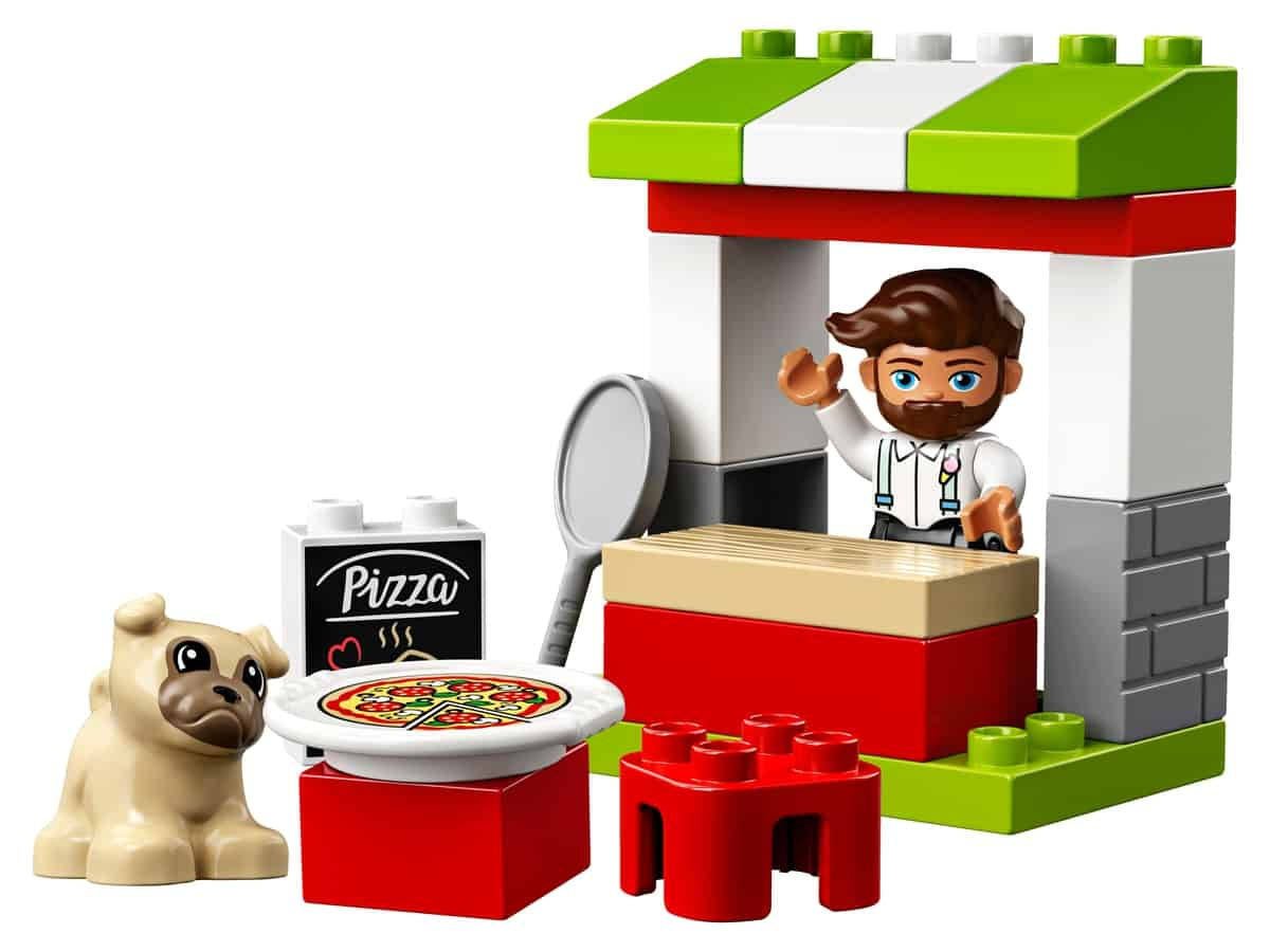 lego pizza kraam 10927