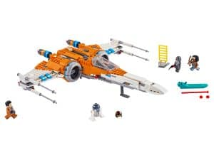 lego poe damerons x wing fighter 75273