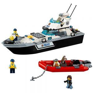 lego politie patrouilleboot 60129