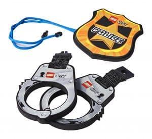 lego politiehandboeien en badge 854018