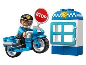 lego politiemotor 10900