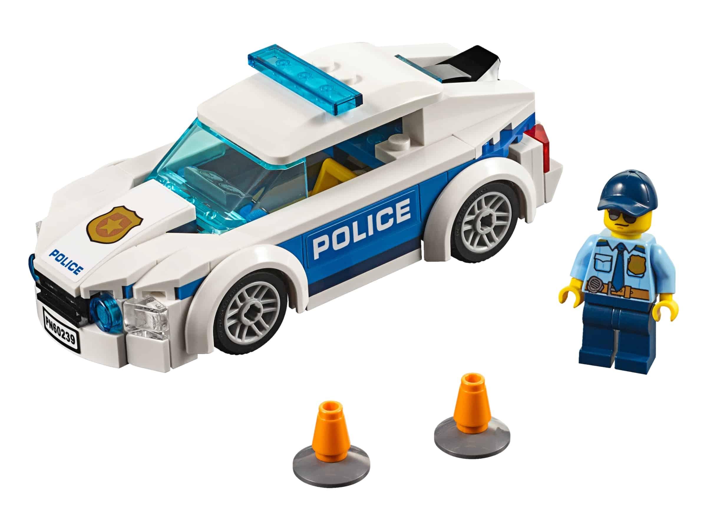 lego politiepatrouille auto 60239