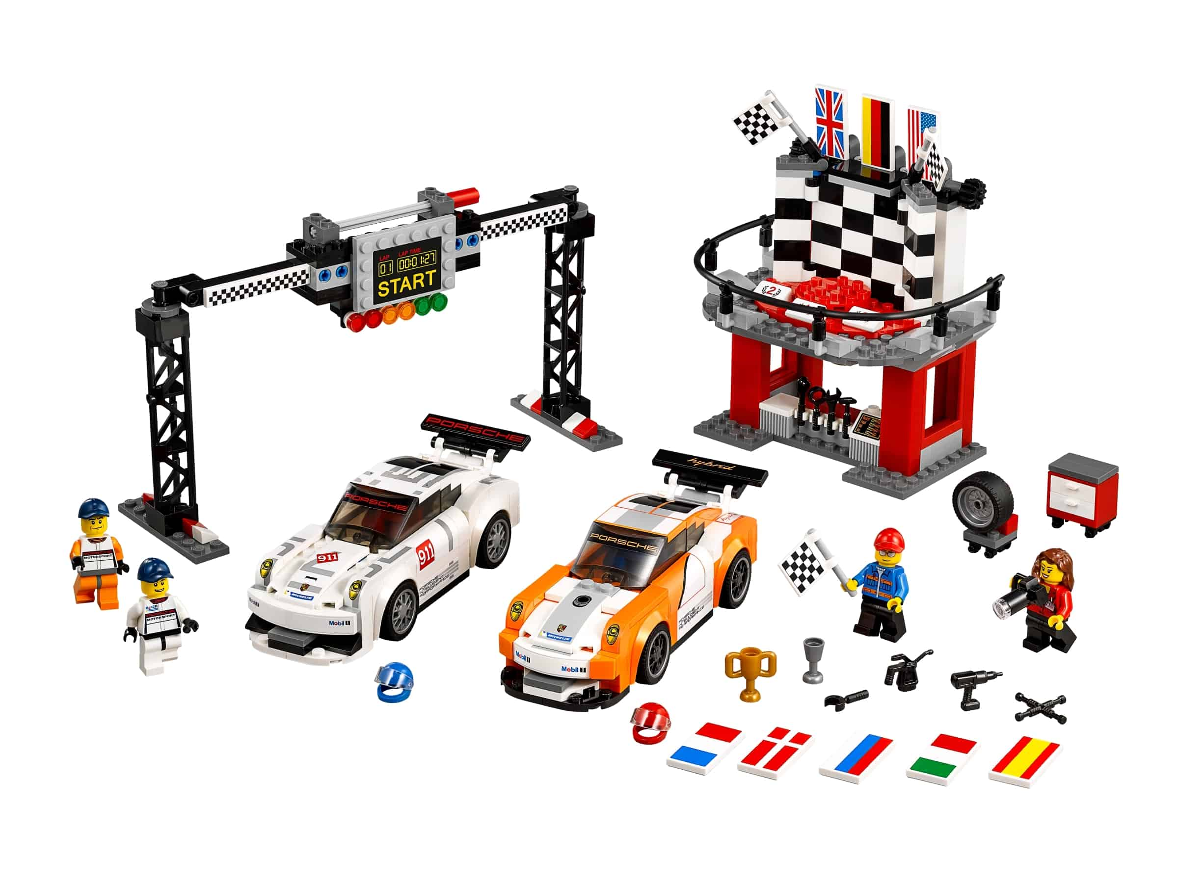 lego porsche 911 gt finish 75912