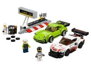 lego porsche 911 rsr en 911 turbo 3 0 75888