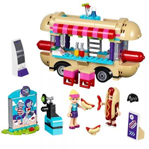 lego pretpark hotdog wagen 41129