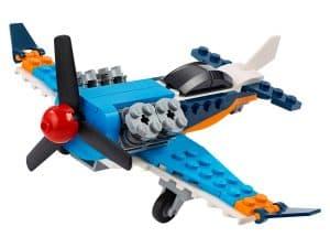 lego propellervliegtuig 31099