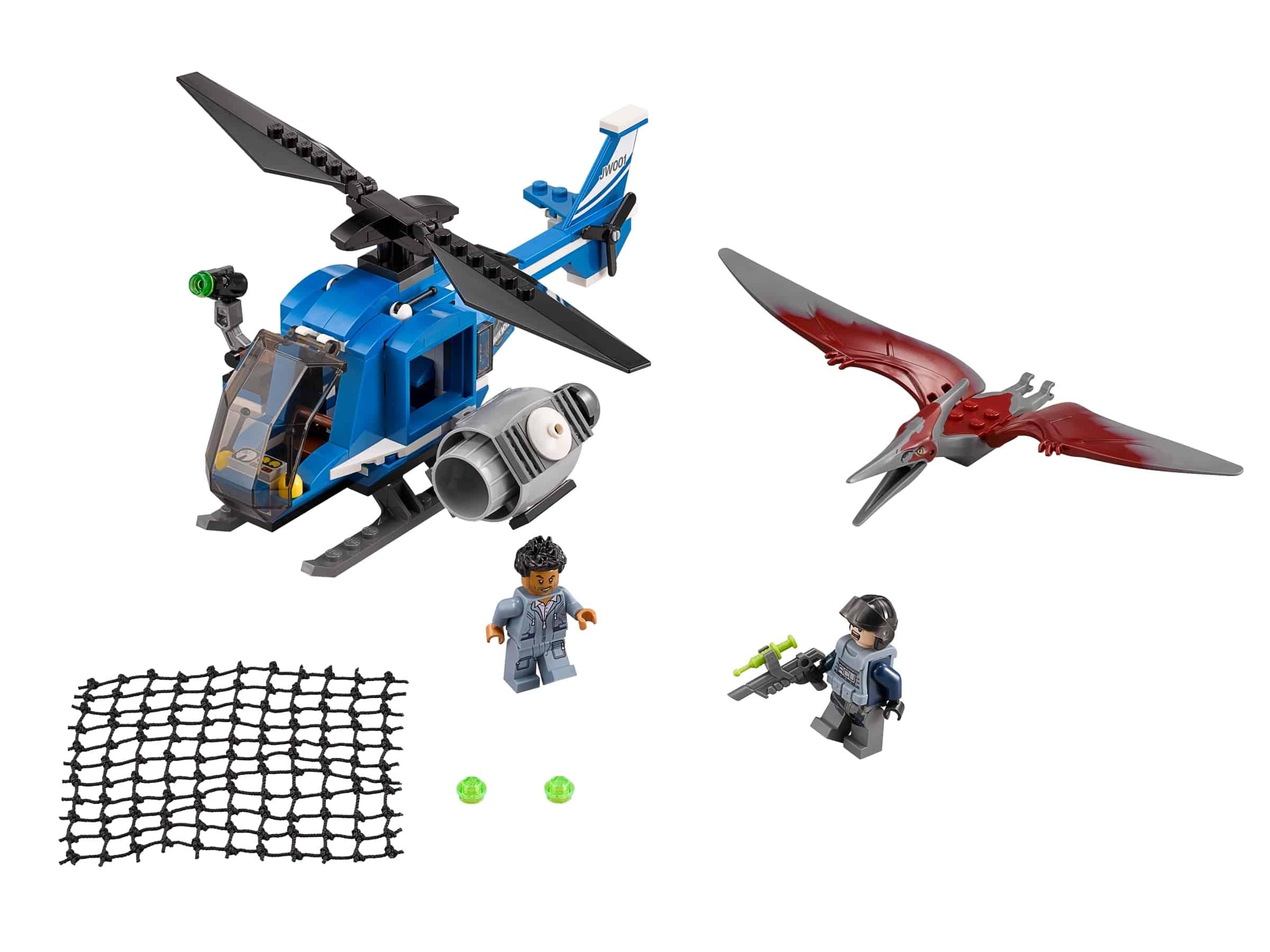 lego pteranodonvangst 75915