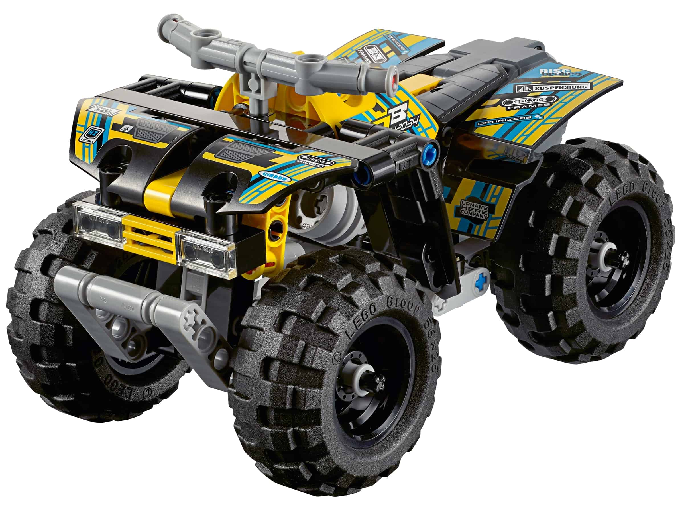 lego quad motor 42034