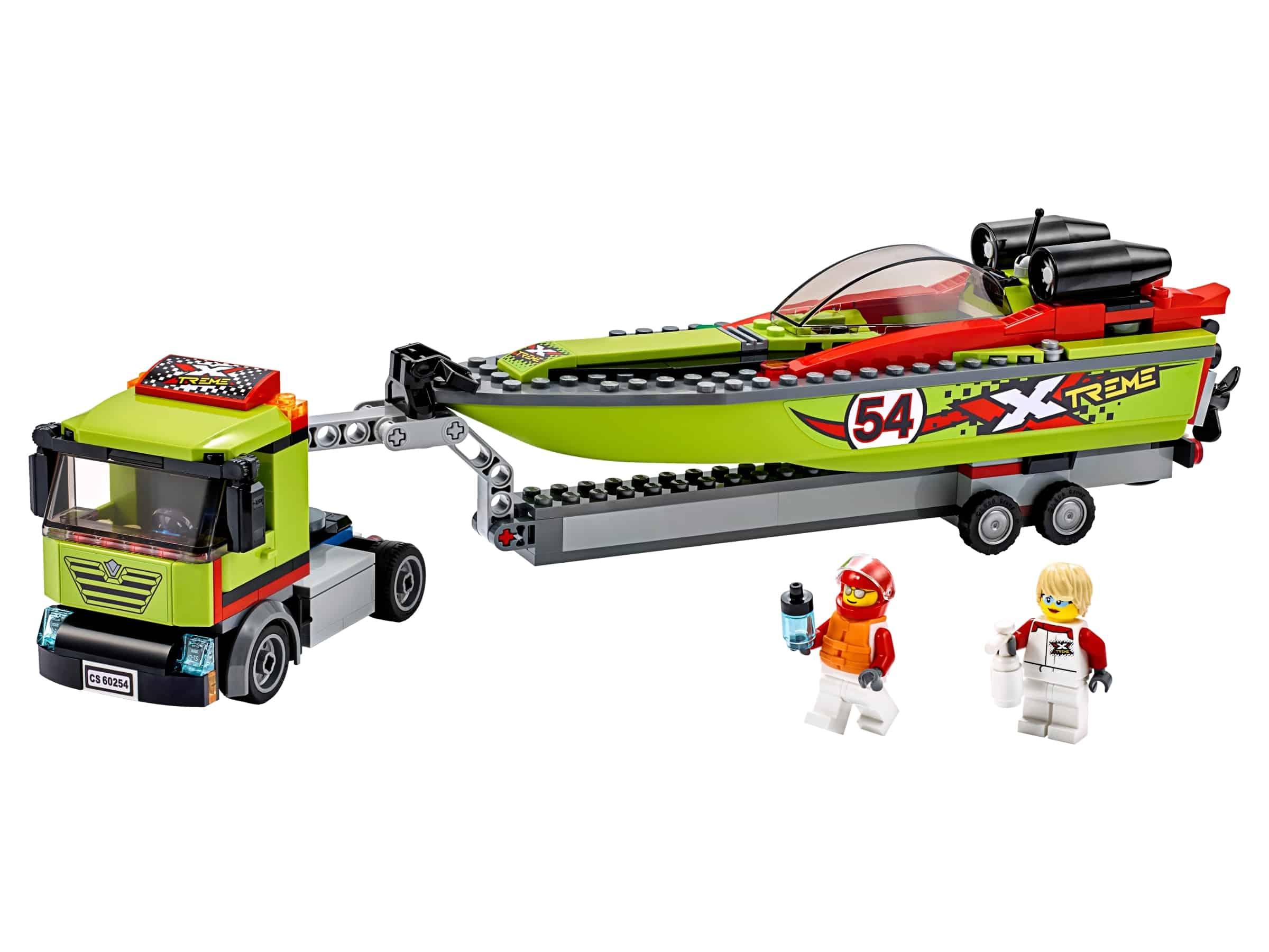 lego raceboottransport 60254
