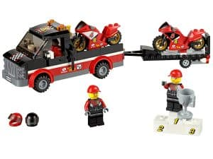 lego racemotor transport 60084
