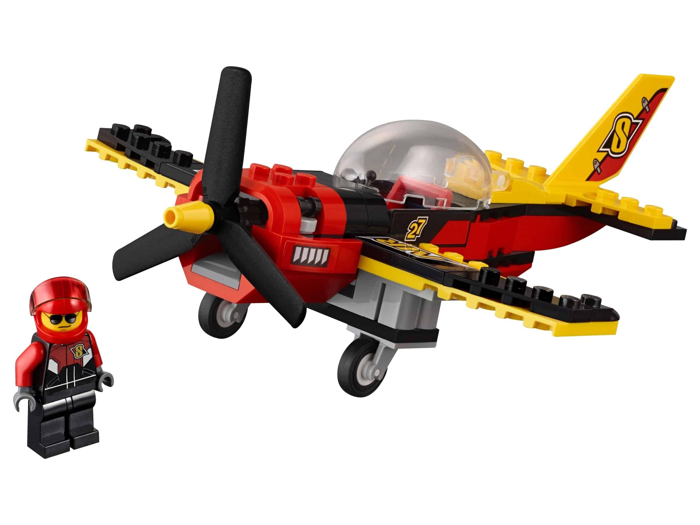 lego racevliegtuig 60144