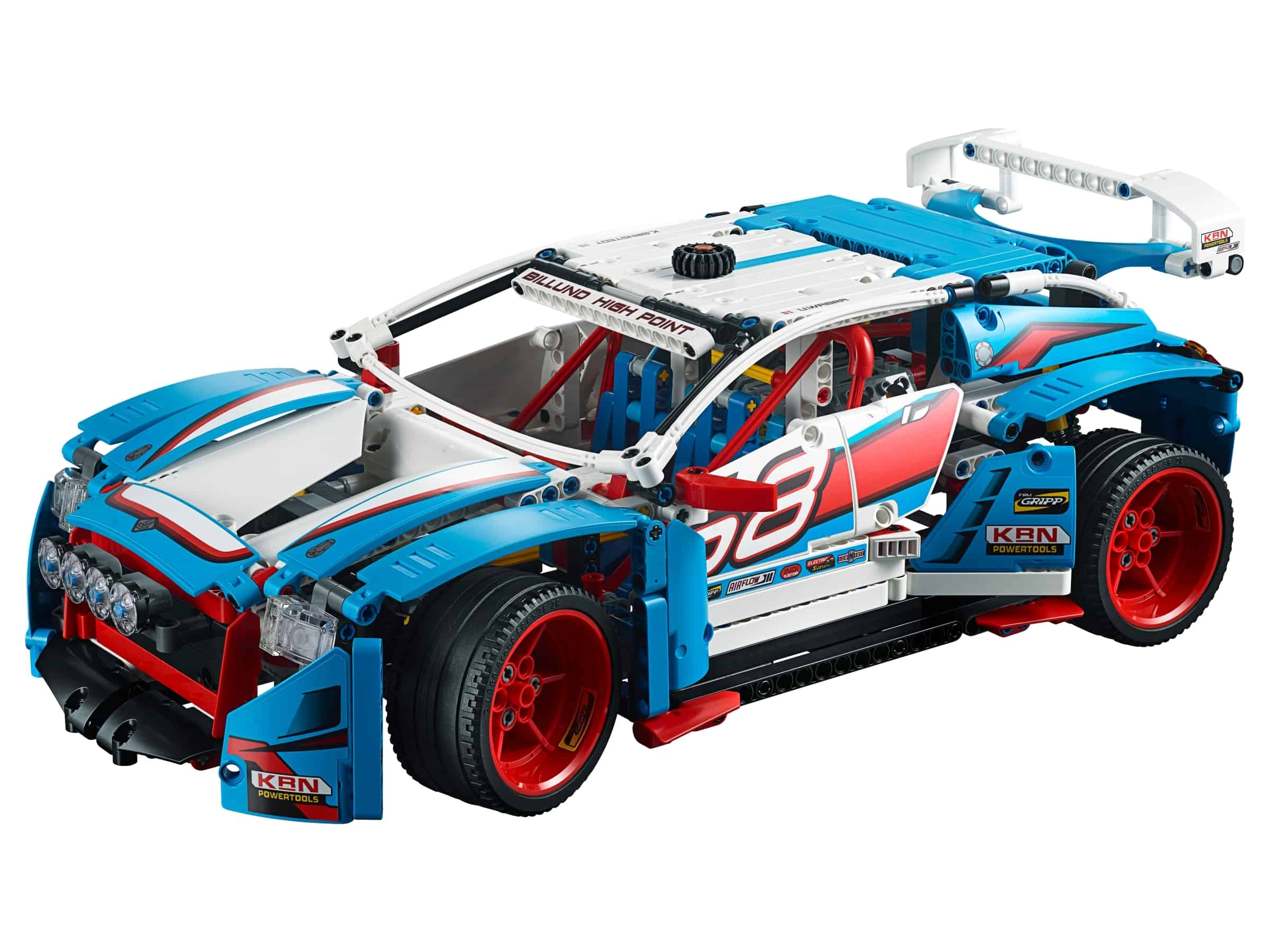 lego rallyauto 42077