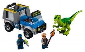 lego raptor reddingsauto 10757
