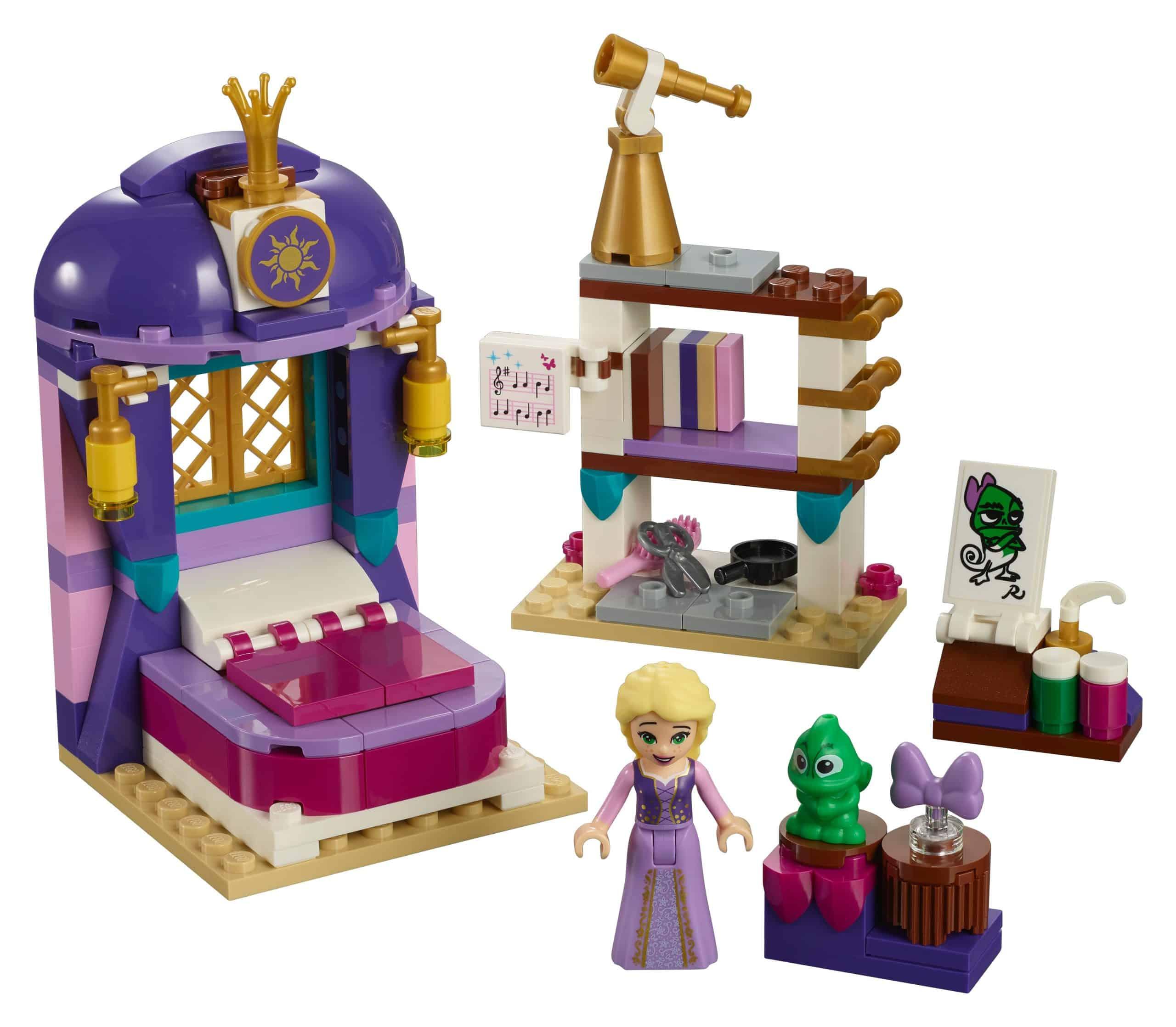 lego rapunzels slaapkamer 41156 scaled
