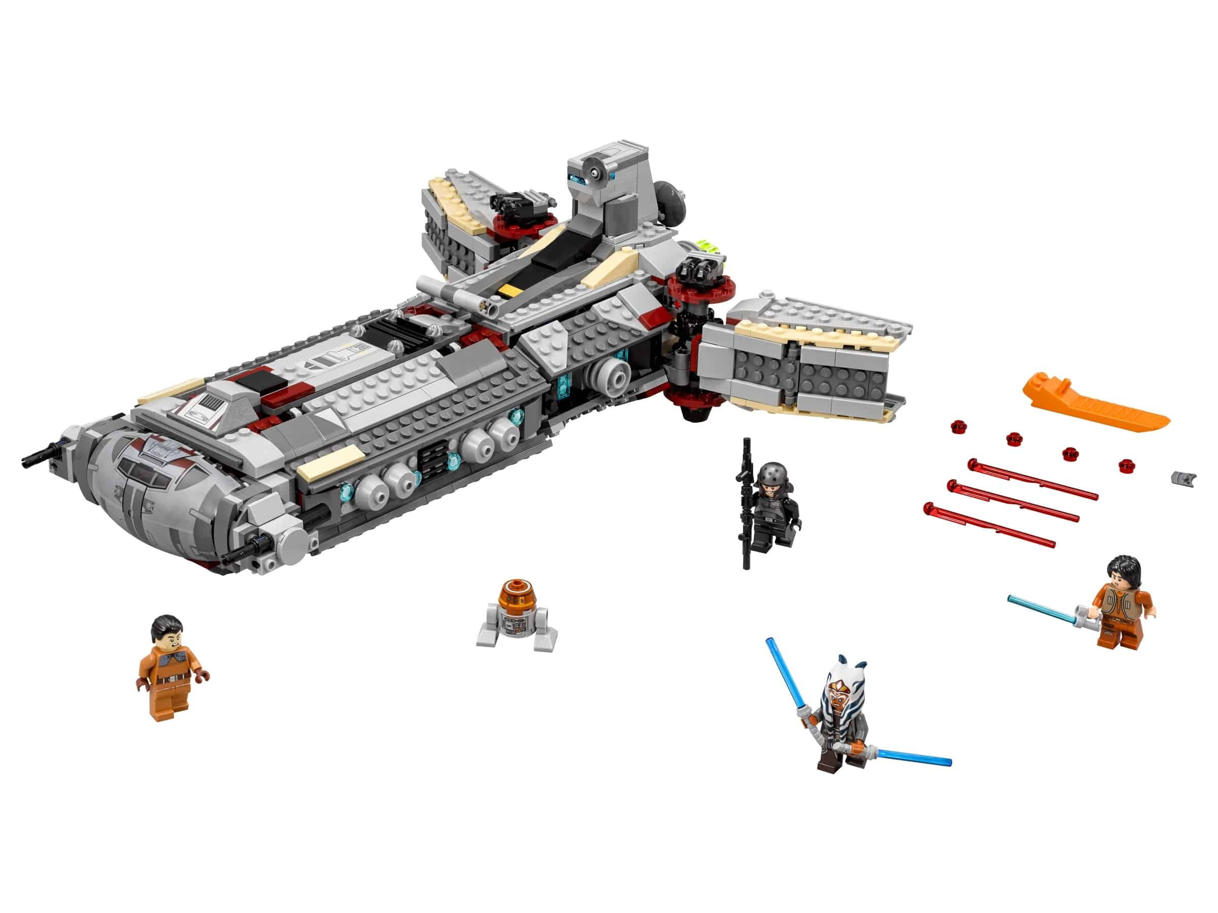 lego rebel combat frigate 75158