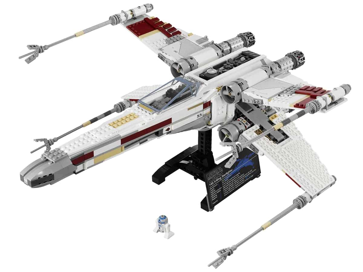 lego red five x wing starfighter 10240
