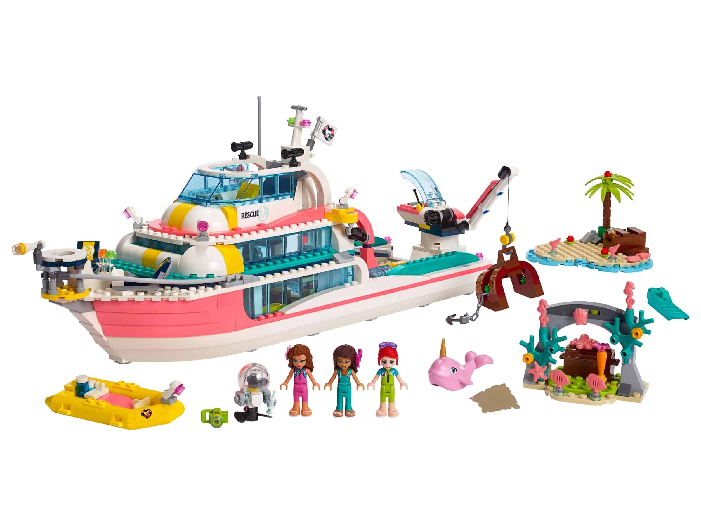 lego reddingsboot 41381