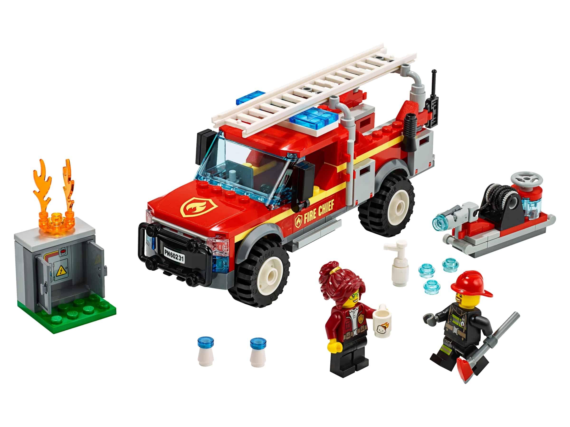 lego reddingswagen van brandweercommandant 60231