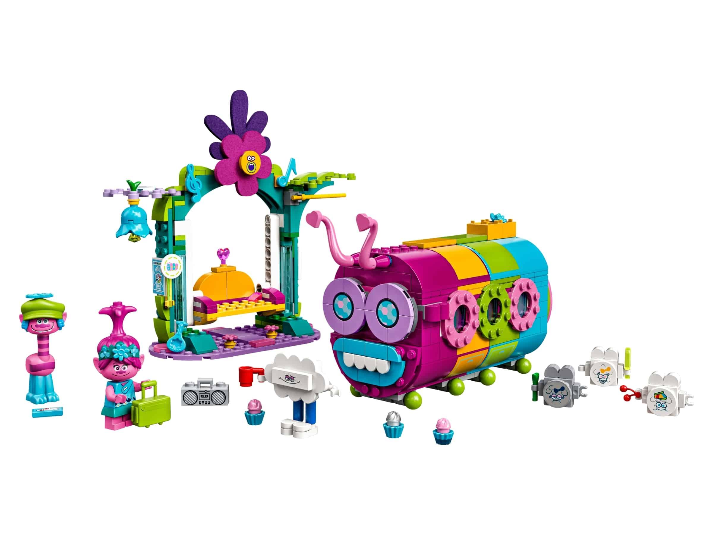 lego regenboogrupsbus 41256