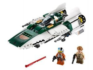 lego resistance a wing starfighter 75248
