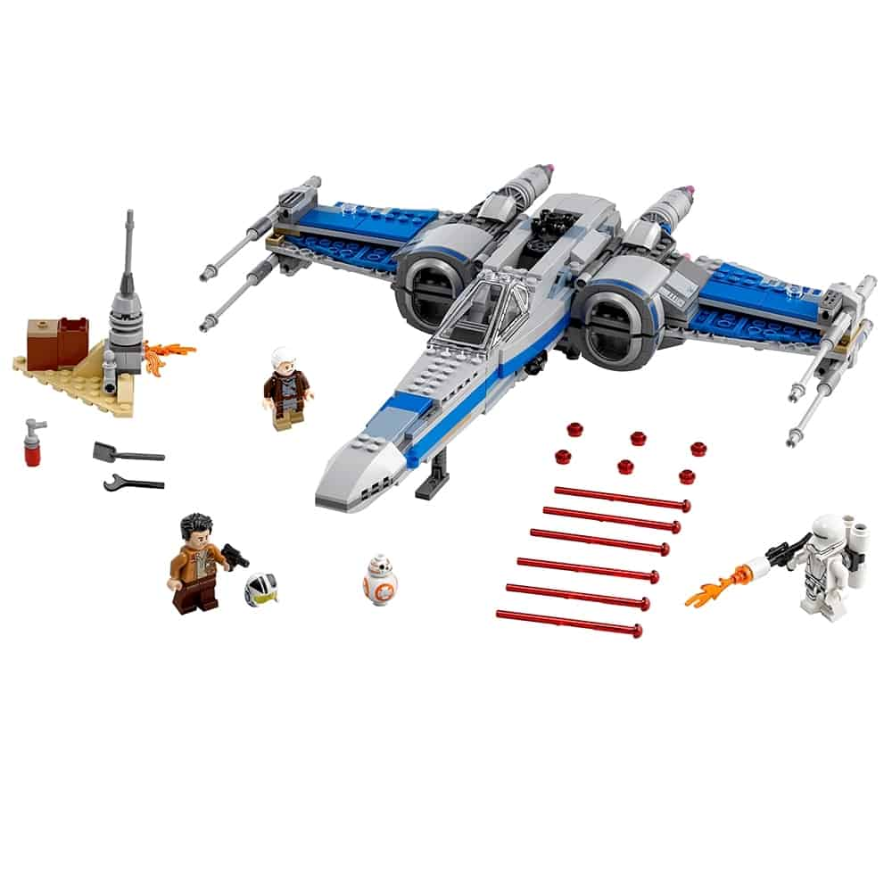 lego resistance x wing fighter 75149