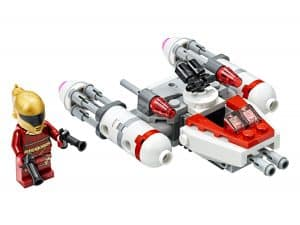 lego resistance y wing microfighter 75263