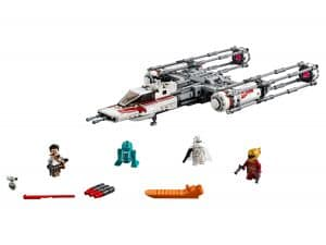 lego resistance y wing starfighter 75249