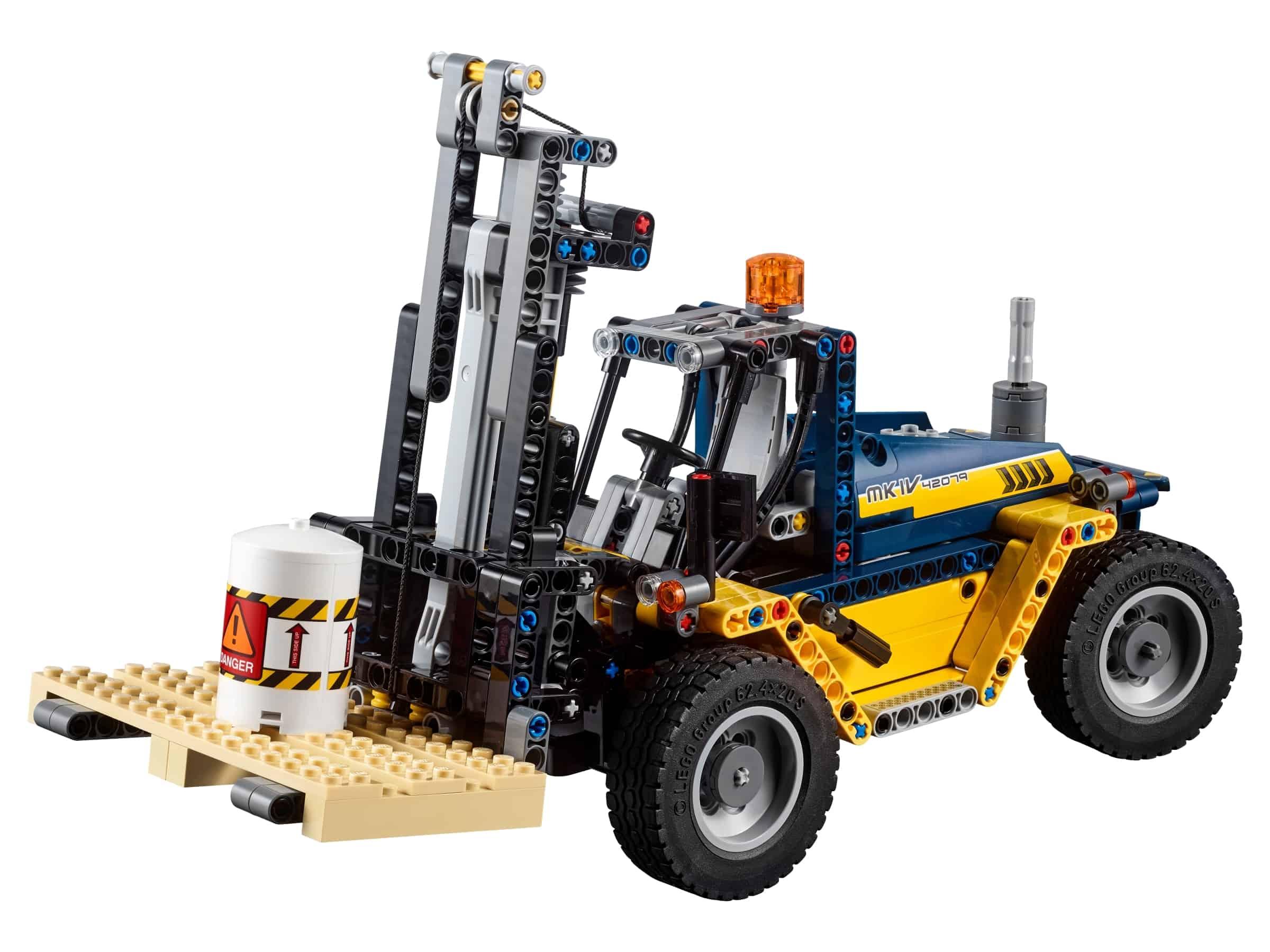lego robuuste vorkheftruck 42079
