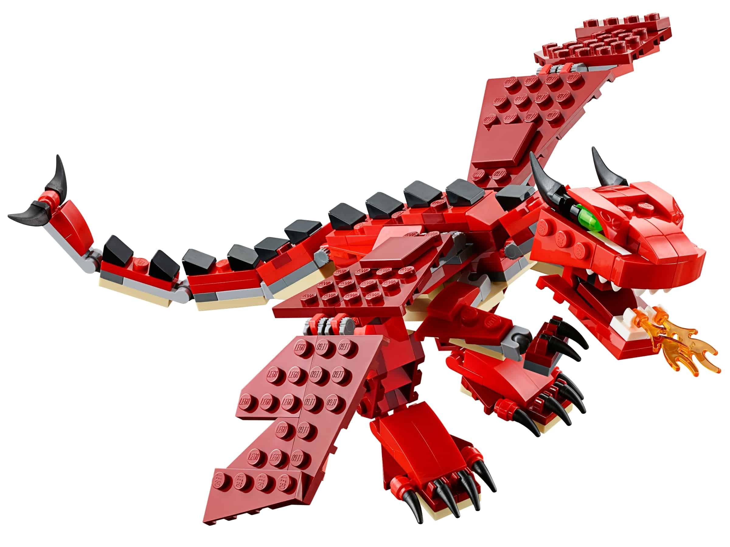 lego rode dieren 31032