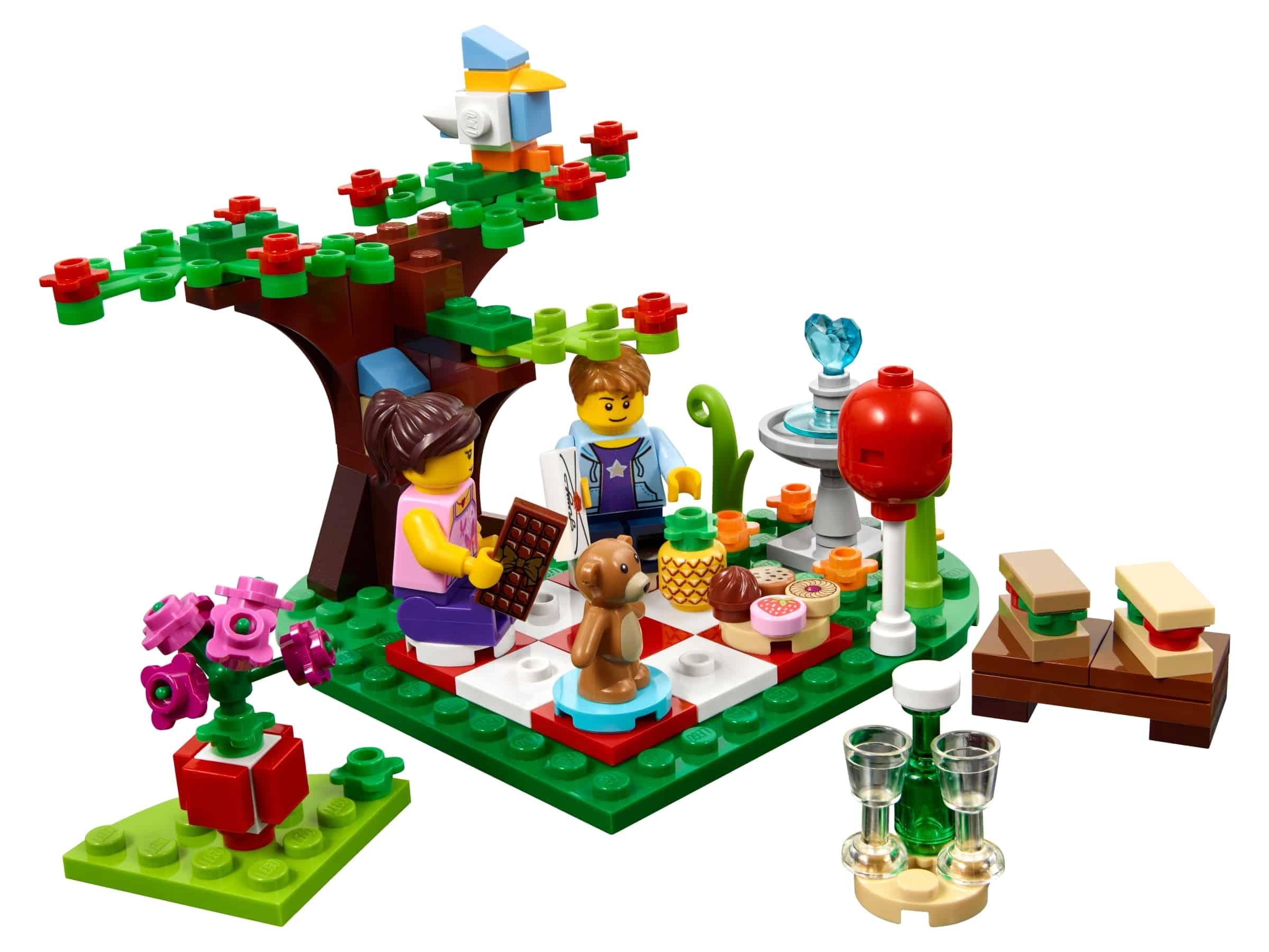 lego romantische valentijnsdag picknick 40236