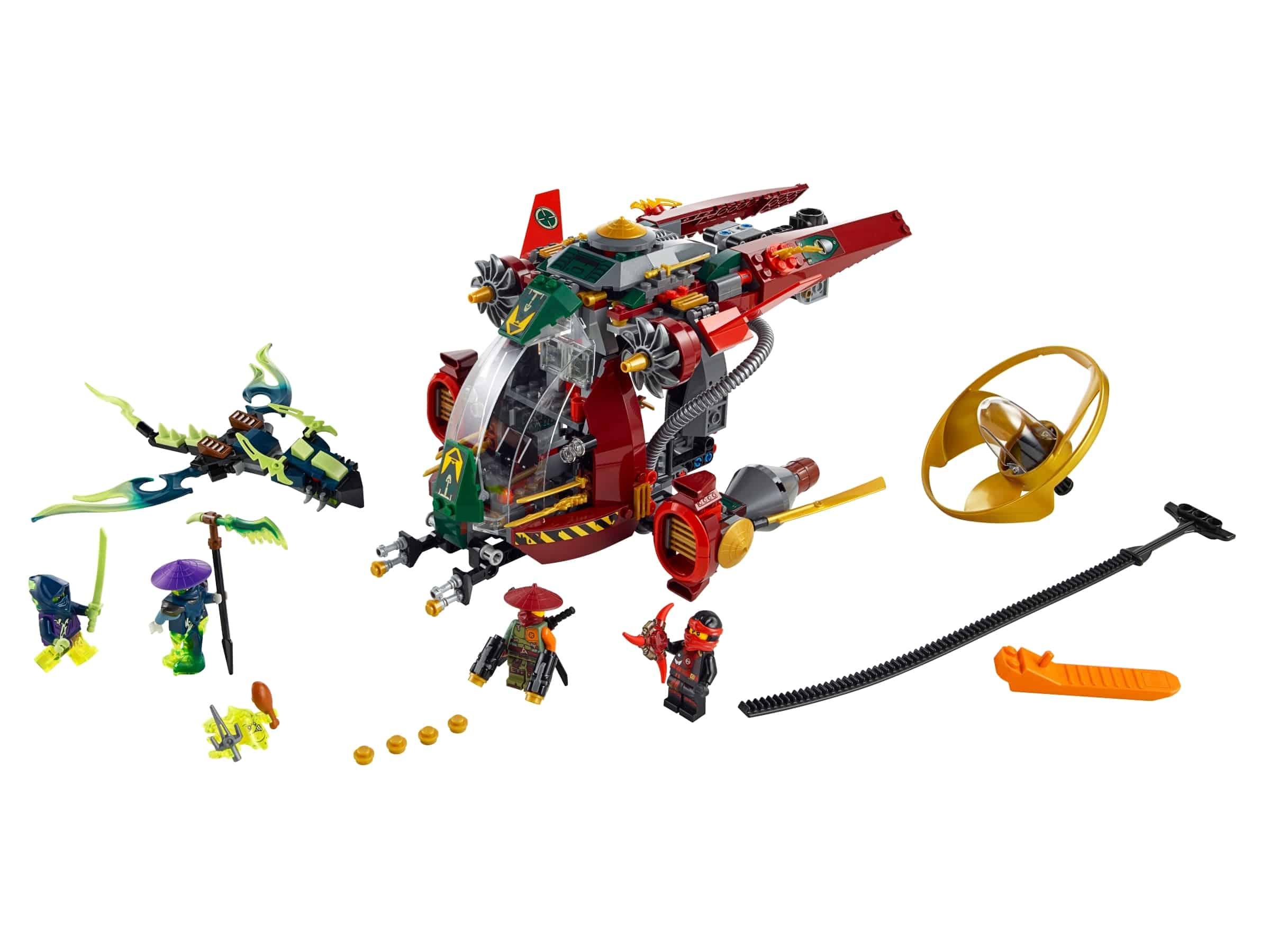 lego ronins r e x 70735