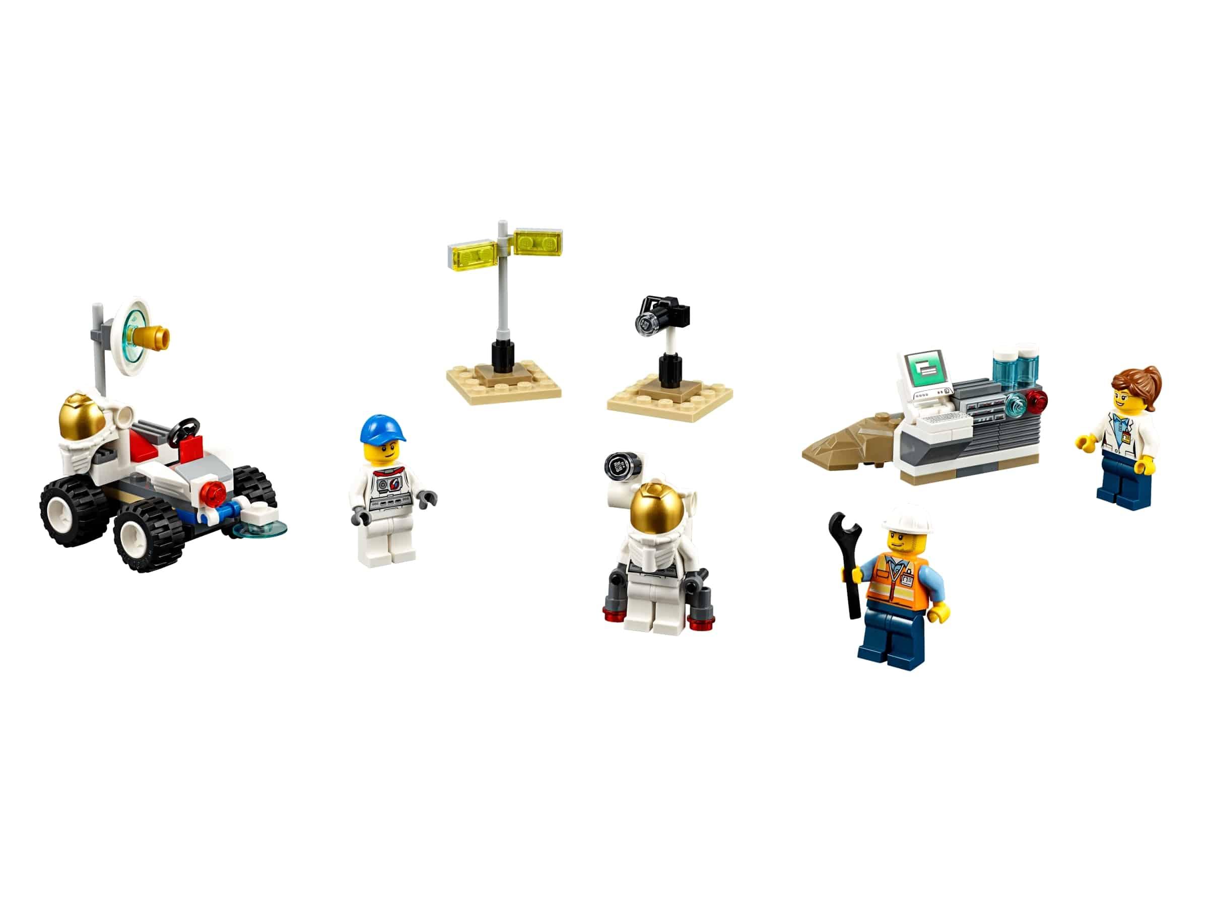 lego ruimtevaart starter set 60077
