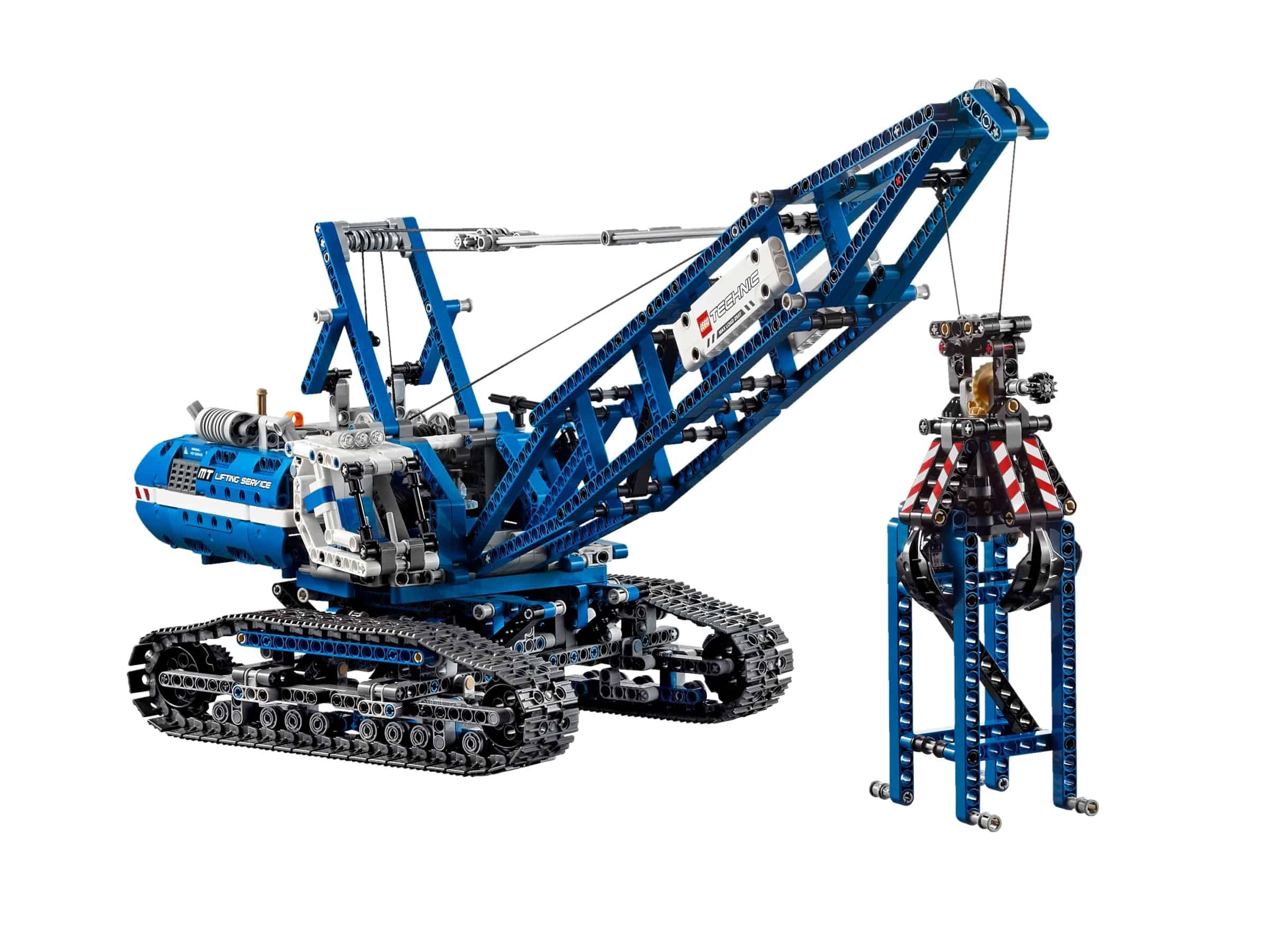 lego rupsband kraan 42042