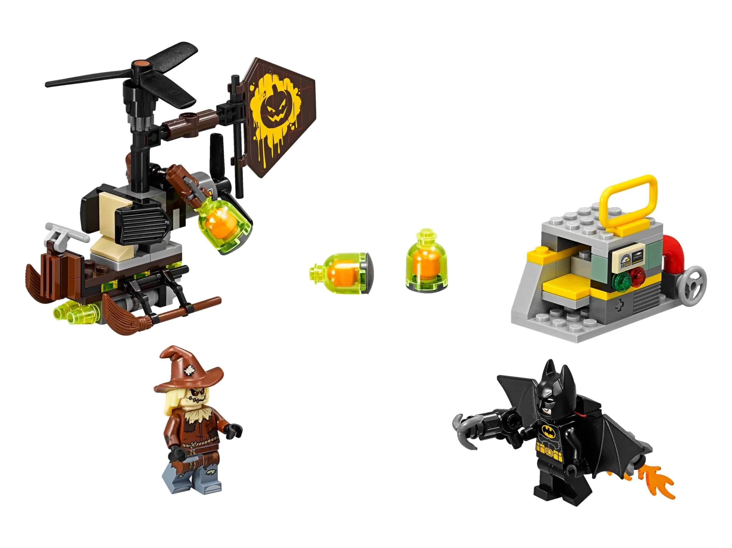 lego scarecrow angstaanval 70913