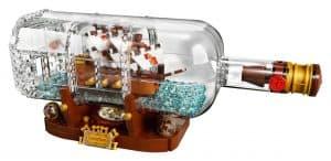 lego schip in een fles 21313