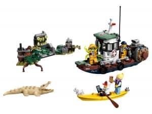 lego schipbreuk met garnalenboot 70419