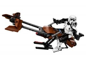 lego scout trooper speeder bike 75532
