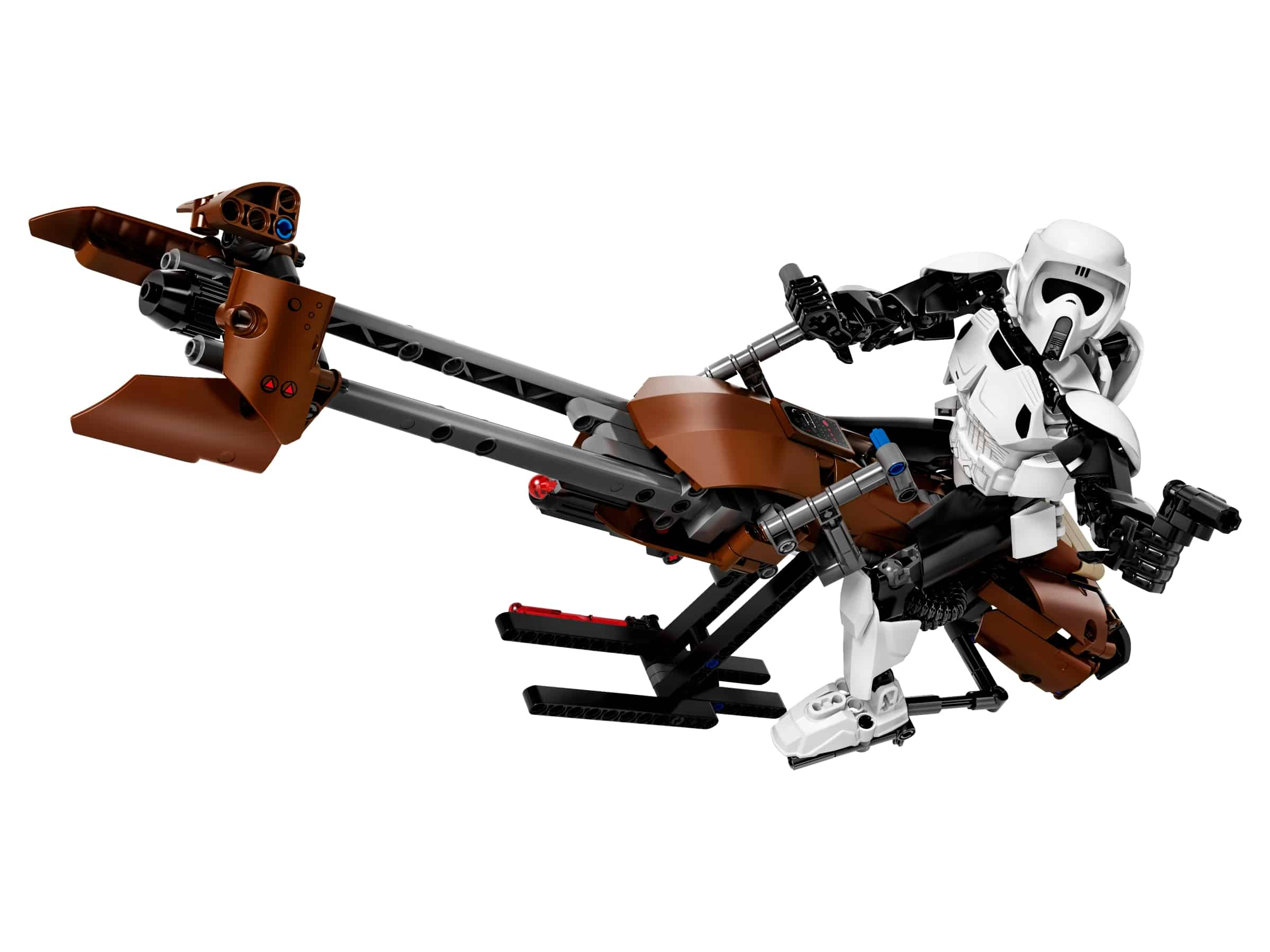 lego scout trooper speeder bike 75532