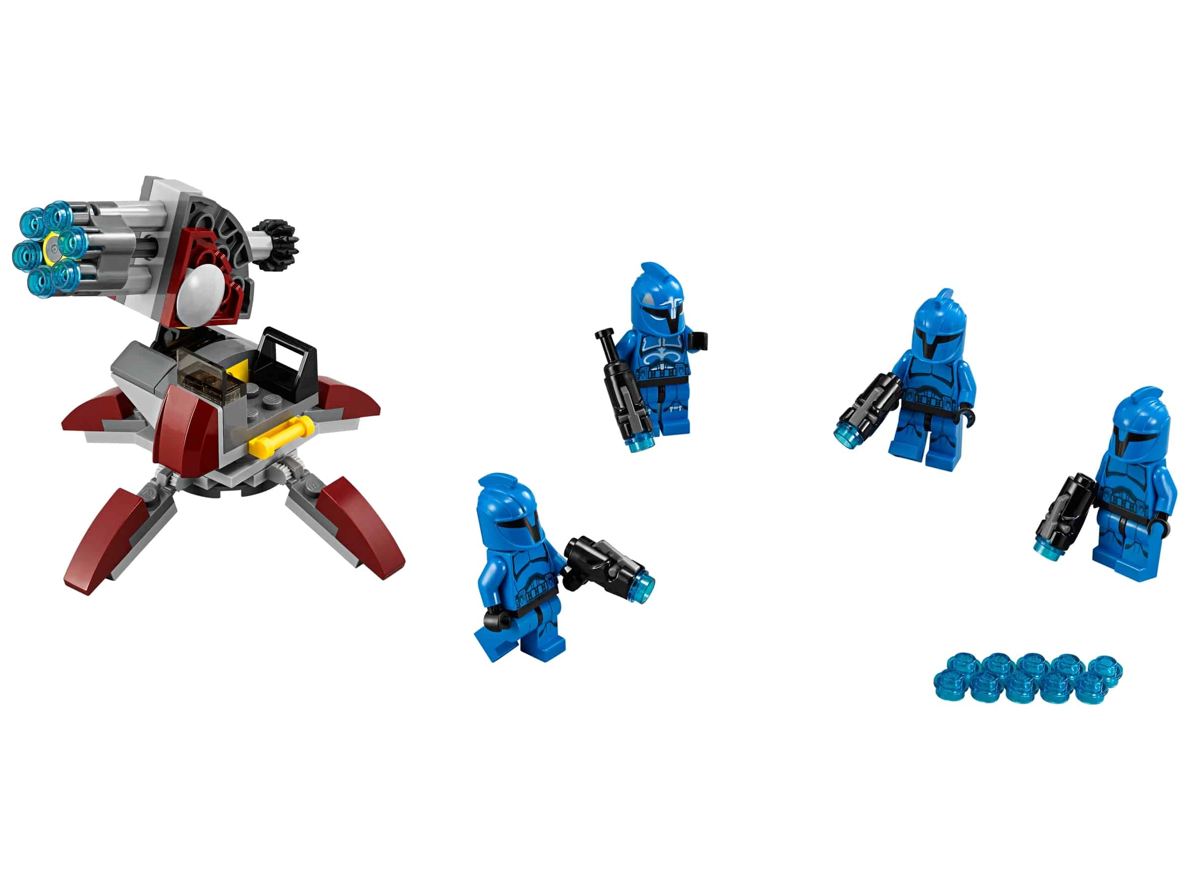 lego senate commando troopers 75088