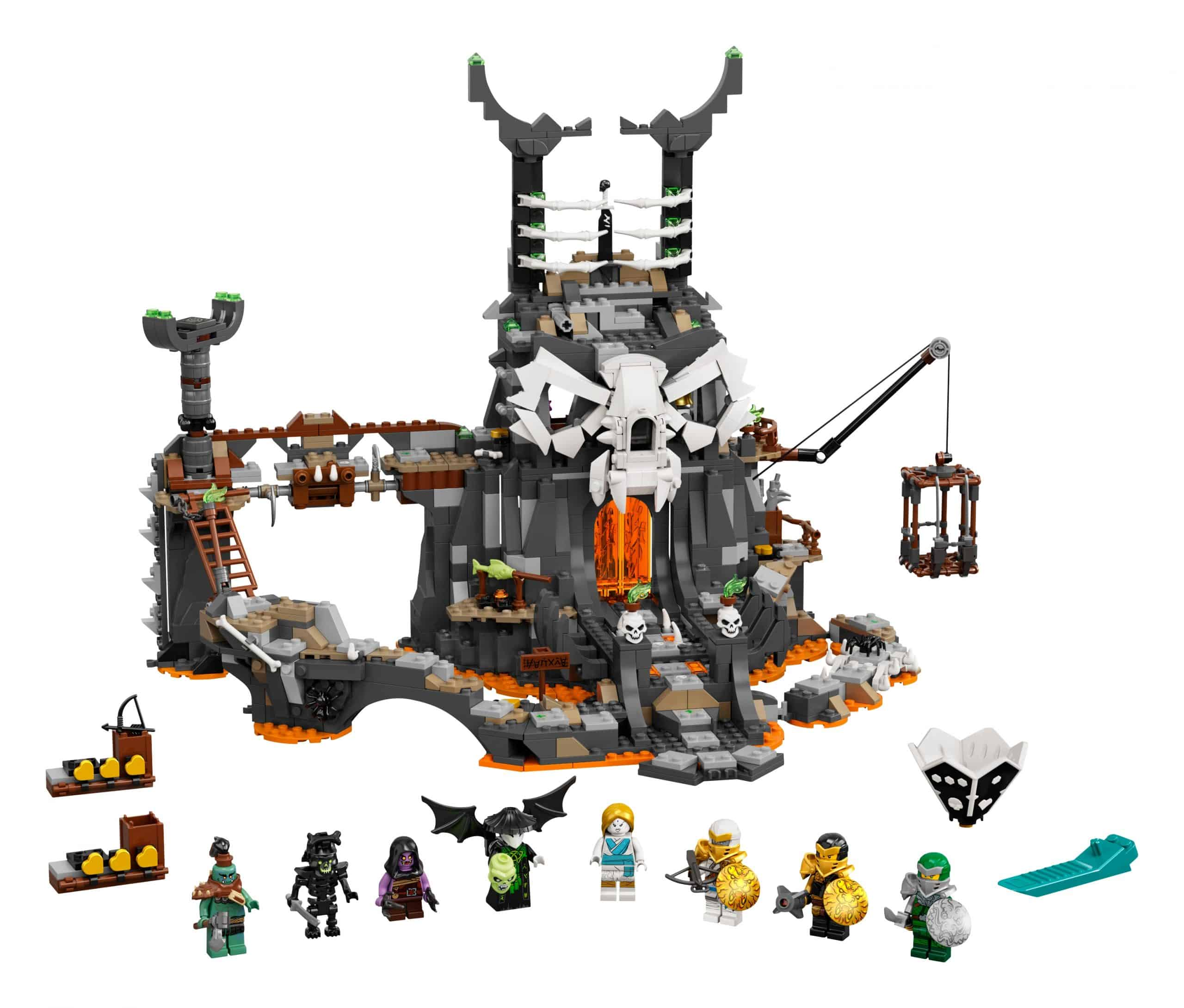 lego skull sorcerers kerkers 71722 scaled