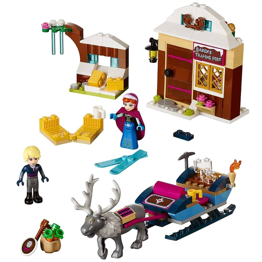 lego slee avontuur met anna kristoff 41066