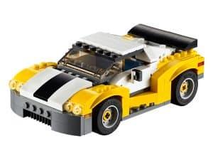 lego snelle wagen 31046