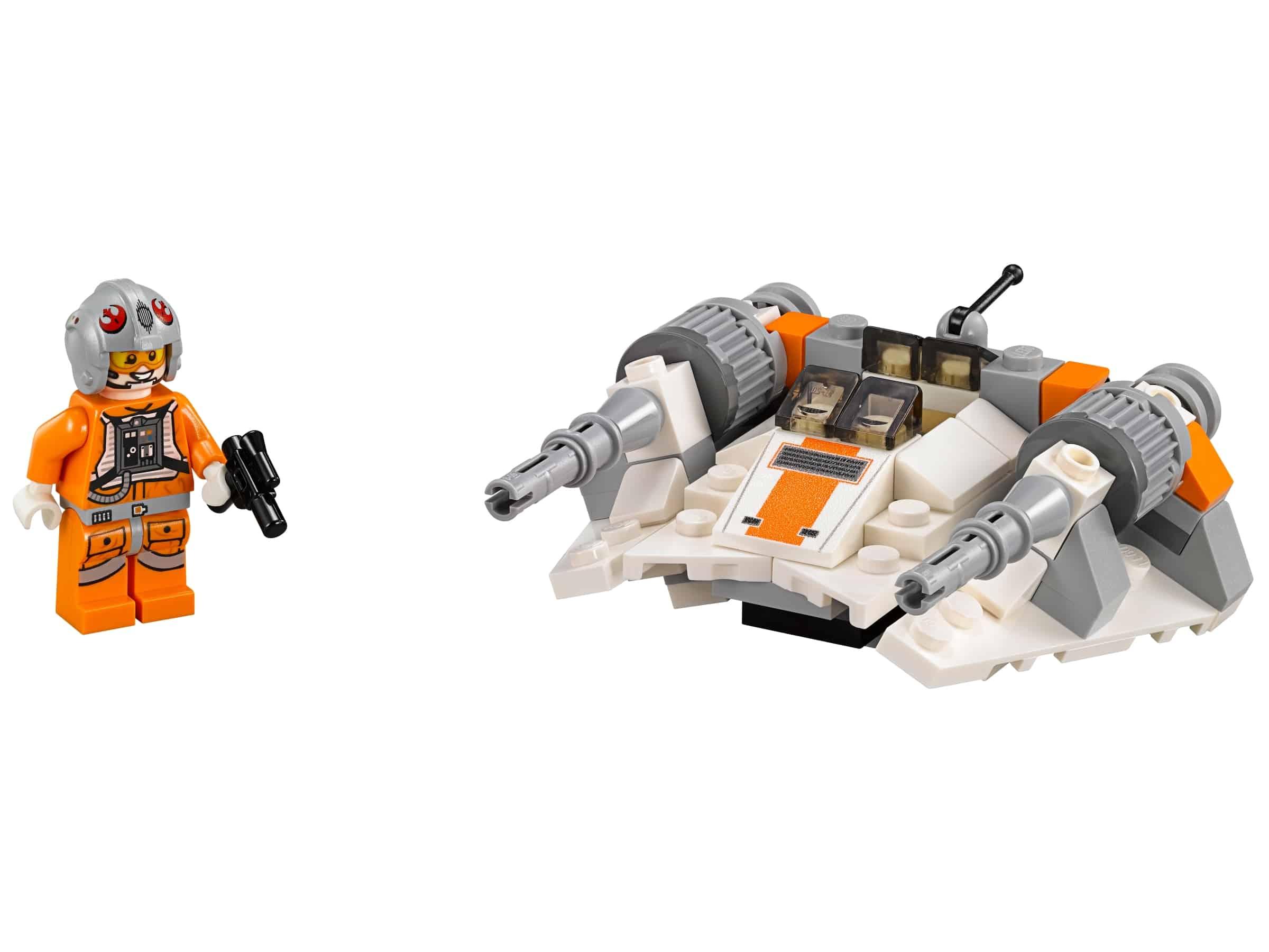 lego snowspeeder microfighter 75074