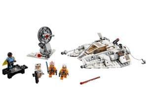 lego snowspeeder uitgave ter ere van het 20 jarig bestaan 75259