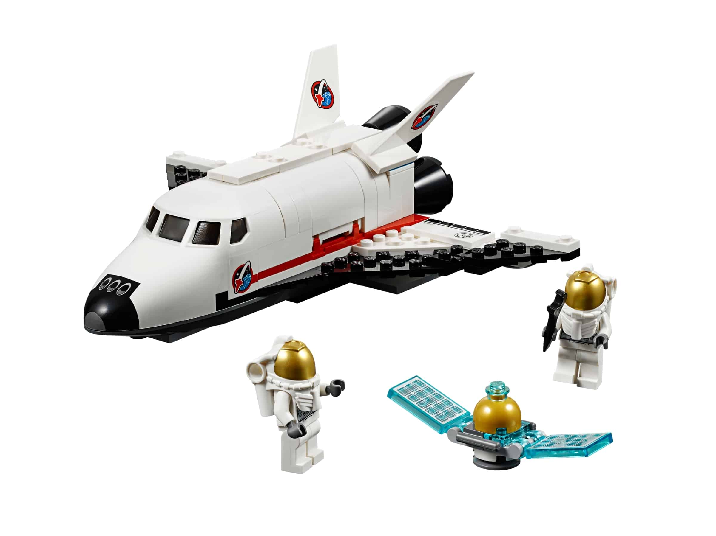 lego space shuttle hulpvoertuig 60078