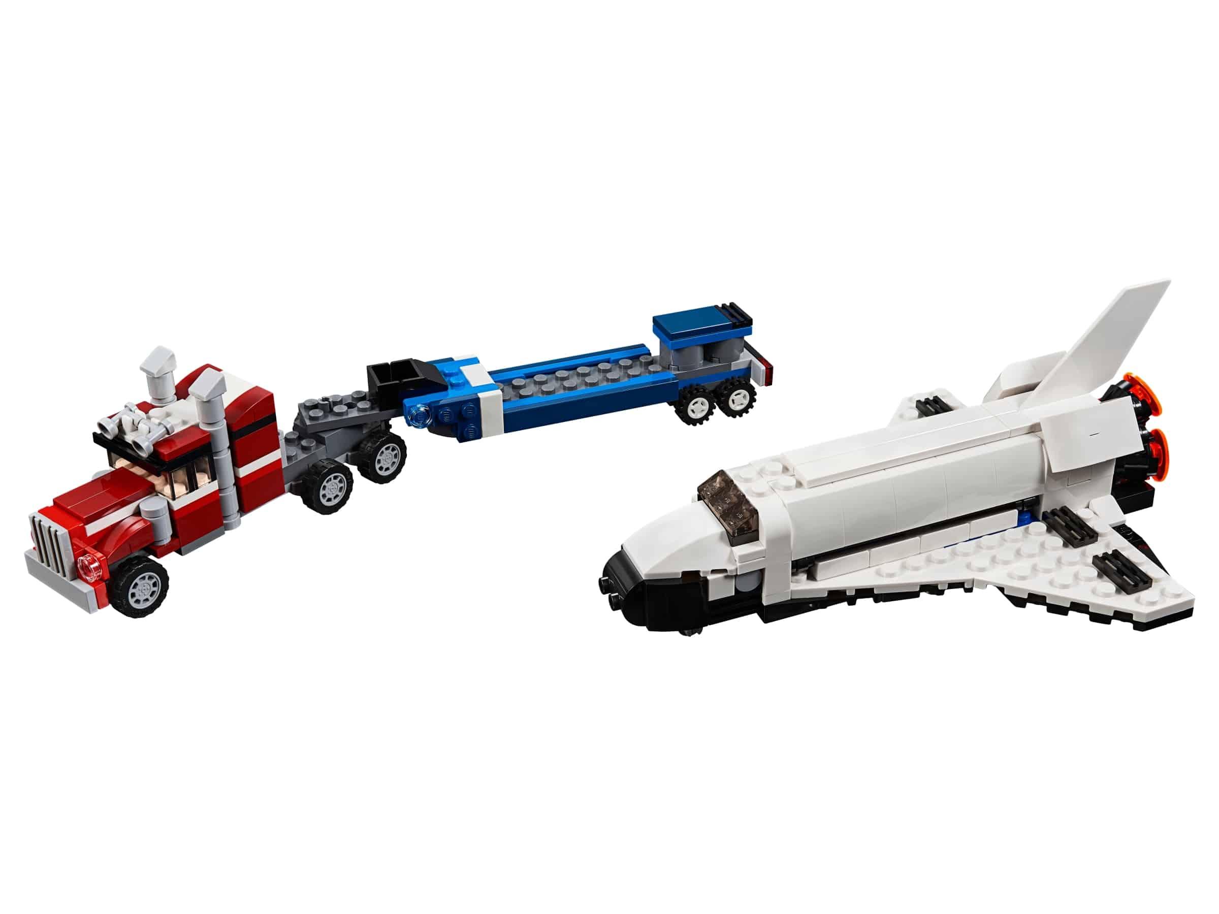 lego spaceshuttle transport 31091